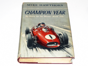 CHAMPION YEAR. ( Mike Hawthorn 1959)